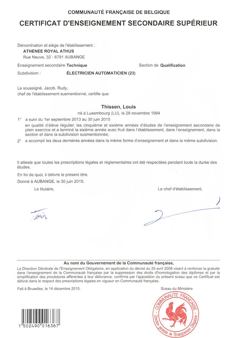 Louis Cv Accueil